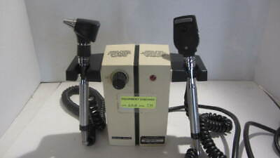 Welch Allyn Model 74710 Transformer With Otoscope And Opthalmoscope