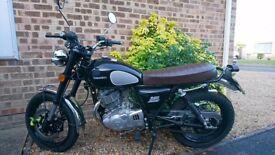 Hardly Used Sinnis QM 250 Motorbike