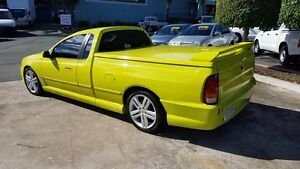 2003 Ford Performance Vehicles Pursuit BA Green 4 Speed Sports Automatic Utility Acacia Ridge Brisbane South West Preview
