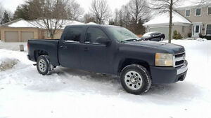 *PART OUT NEW BODY CHEVY* 2007 SILVERADO 1500 CREW CAB* PICK UP