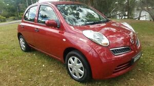 2008 Nissan Micra K12 Red 4 Speed Automatic Hatchback Tuggerah Wyong Area Preview