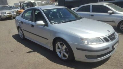 2003 Saab 9-3 MY03 Aero Silver 5 Speed Auto Sentronic Sedan Condell Park Bankstown Area Preview