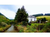 Secluded Rural Detached House with land and outbuildings for sale