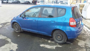 2008 Honda Fit Hatchback 132000 km  $4500