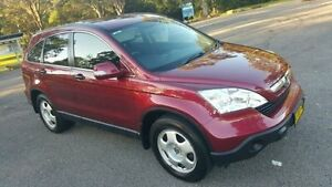 2008 Honda CR-V MY07 (4x4) Maroon 5 Speed Automatic Wagon Tuggerah Wyong Area Preview