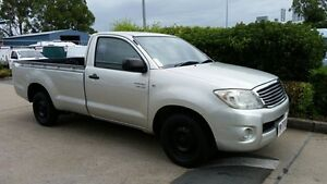 2009 Toyota Hilux GGN15R MY10 SR Champagne 5 Speed Manual Utility Acacia Ridge Brisbane South West Preview