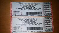 One Direction Concert Tickets for Montreal