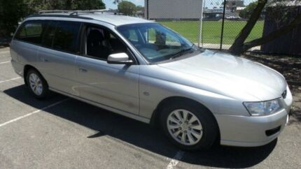 2007 Holden Commodore VZ MY06 Upgrade Acclaim Silver 4 Speed Automatic Wagon
