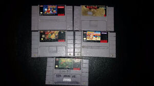 Selling a Bundle of 2 SNES Games