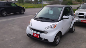 2012 smart fortwo safety included