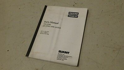 Prentice Hydro-ax Telstik Parts Manual Ci97