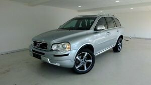 2013 Volvo XC90 P28 MY13 D5 Geartronic R-Design Silver 6 Speed Sports Automatic Wagon Hobart CBD Hobart City Preview