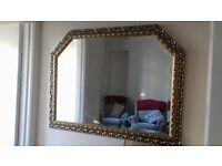 Beautiful Gold decorative edge mirror