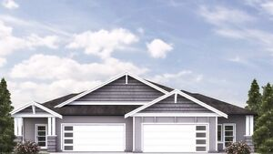Brand New One Level Home with 3 Bedroom & Double Garage
