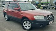 2005 Subaru Forester 79V MY06 X AWD Red 5 Speed Manual Wagon Bungalow Cairns City Preview