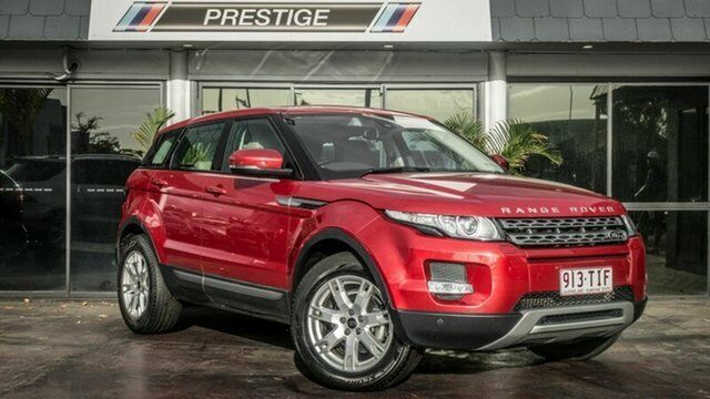 2013 land rover range rover evoque lv my13 td4 pure red 6 speed