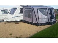 VANGO 420 AIR AWNING WITH EXTRA BEDROOM,AND CARPET,ONLY USED ONCE