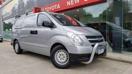 2013 Hyundai iLOAD TQ2-V MY14 Silver 5 Speed Automatic Van Southbank Melbourne City Preview