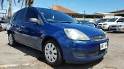 2007 Ford Fiesta WQ LX Blue 5 Speed Manual Hatchback Blair Athol Port Adelaide Area Preview