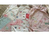 3 Girls 18-24 Grow Bags/ Sleeping Bags