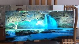 Waterfall Picture For Sale, illuminated, animated and with sound effects.