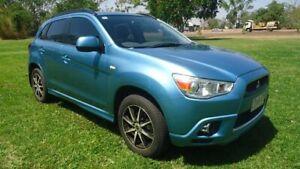 2012 Mitsubishi ASX XA MY12 Platinum 2WD Blue 5 Speed Manual Wagon Winnellie Darwin City Preview