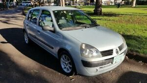 2005 Renault Clio Authentique Silver 4 Speed Automatic Hatchback Prospect Prospect Area Preview