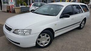 2004 Ford Falcon BA MkII XT White 4 Speed Auto Seq Sportshift Wagon Maidstone Maribyrnong Area Preview