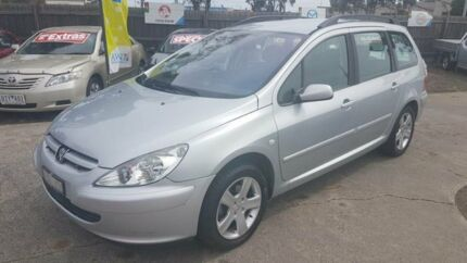 2004 Peugeot 307 1.6 Grey 4 Speed Automatic Hatchback