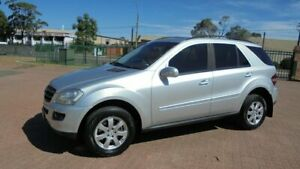 2007 Mercedes-Benz ML320 CDI W164 07 Upgrade 4x4 Silver 7 Speed Automatic G-Tronic Wagon Condell Park Bankstown Area Preview