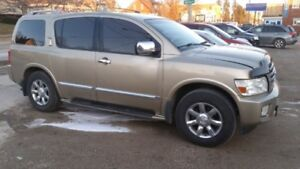WOW! MAKE ME AN OFFER! 2004 GOLD Infiniti QX56 SUV, Crossover