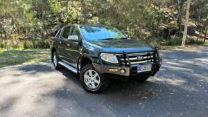 2013 Ford Ranger PX XLT DUAL CAB Grey Manual Utility Springwood Logan Area Preview
