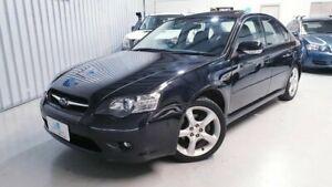 2004 Subaru Liberty B4 MY04 Safety Pack AWD Black 4 Speed Sports Automatic Sedan Seaford Morphett Vale Area Preview