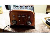 Morphy Richards Copper/ Orange Toaster