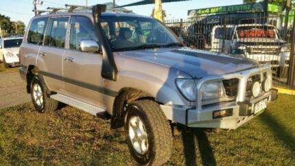 2000 Toyota Landcruiser HDJ100R GXL Silver Manual Wagon Deagon Brisbane North East Preview