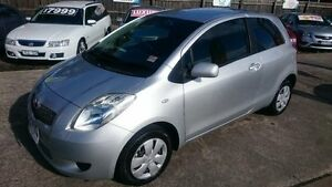 2007 Toyota Yaris NCP90R YR Silver 4 Speed Automatic Hatchback Maidstone Maribyrnong Area Preview