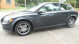 2010 Volvo C30 MY10 T5 Grey 5 Speed Auto Geartronic Hatchback Granville Parramatta Area Preview