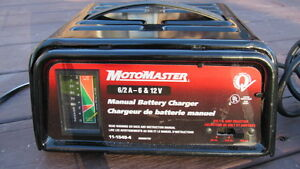 MotoMaster 6/2 A - 6 & 12 V Manual Battery Charger Cornwall Ontario image 2