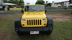 2009 Jeep Wrangler JK MY2009 Sport Yellow 6 Speed Manual Softtop Maryborough Fraser Coast Preview