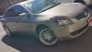 2008 Nissan Altima 2.5S, Summer & Winter Rims E-Tested & Saftied