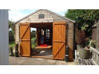 Large workshop/Office/ Shed/ Summer house