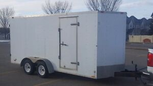CONTINENTAL CARGO 7 x 16 ENCLOSED CARGO TRAILER
