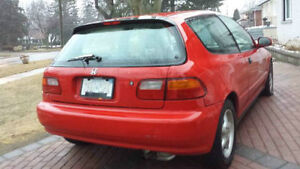 1995 Honda Civic CX Hatchback 79000km