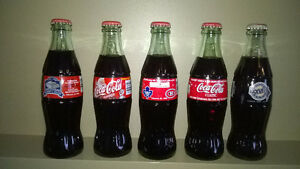 Collector Coke Bottles