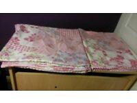 2 x single set with pillow case 2x single duvet 1x double duvet set with pillow case as new