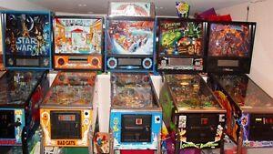 Arcade Machines and Pinball Machines