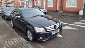 2008 MERCEDES BENZ C220..13 MONTHS MOT..FULLY SERVICED