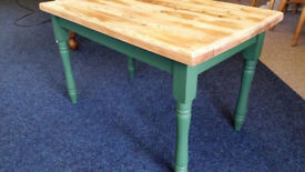 Country Pine Painted Occasional/Coffee Table