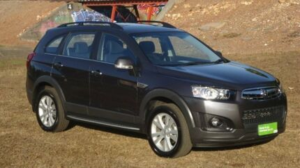 2014 Holden Captiva CG MY14 7 AWD LT Grey 6 Speed Sports Automatic Wagon
