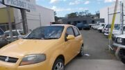 2007 Holden Barina TK MY08 Yellow 5 Speed Manual Hatchback Beenleigh Logan Area Preview